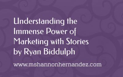 Understanding the Immense Power of Marketing with Stories by Ryan Biddulph